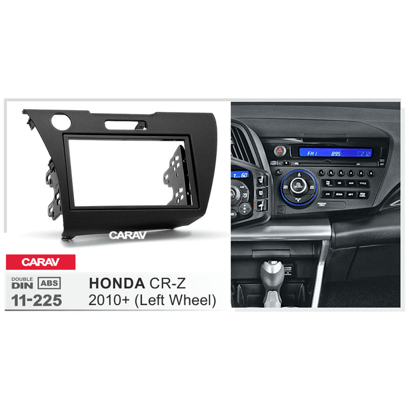 carav 11 225 top quality radio fascia for honda cr z 2010. Black Bedroom Furniture Sets. Home Design Ideas