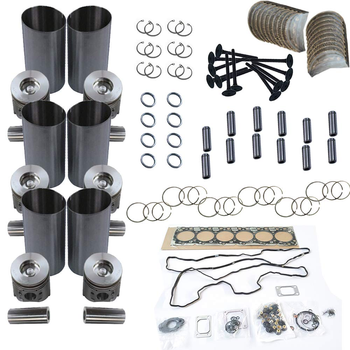 S6K S6KT Overhaul Rebuild Kit for  Engine  320C E200B Excavator digger parts