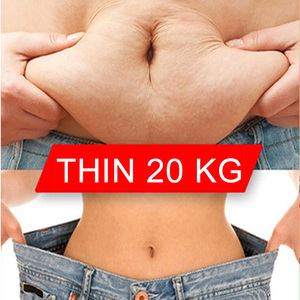 20PC Medicina Tradicional China Lose Weight Loss Fat Burning Product Slim Patch White Patch Slimming Products Navel Sticker