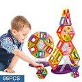 86 unids Mini bloque de construcción de modelos de Toy Enlighten plástico Model Kits juguetes educativos para niños de regalo