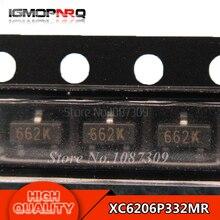 50pcs free shipping XC6206P332MR 662K XC6206 3.3V/0.5A Positive Fixed LDO Voltage Regulator SOT-23 new original