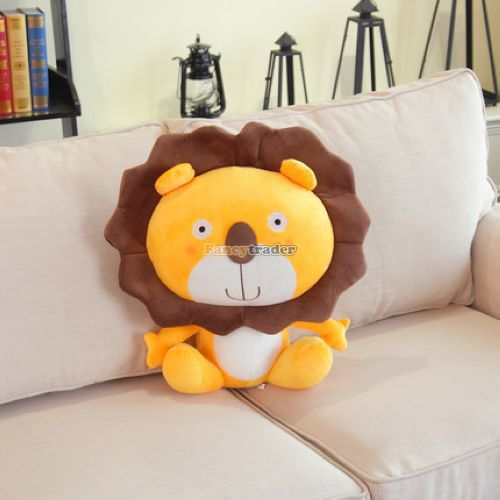 Fancytrader 2015 new Fashion Lion King toy 24'' 60cm Plush Stuffed Lion King Good Birthday Gift, 2 Colors, Free Shipping FT90521 fancytrader new style fashion banana toy 31 80cm big plush stuffed cute banana birthday gift kids gift free shipping ft90528