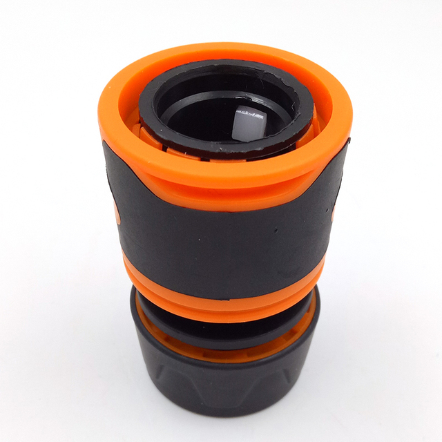 Durable Water Sprinkle 1/2″ Water Hose Connector Pipe Adaptor Tap Hose Pipe Fitting Set Quick connector with Rubber Material