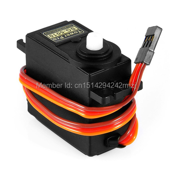 Best Price 2PCS/LOT SG5010 High Torque Digital Servo Motor RC Helicopter Airplane Boat for Arduino UNO R3 sg90 Free Shipping