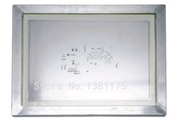 Бесплатная доставка Алюминиевые обрамленные лазерные трафареты из нержавеющей стали для пайка ПХД сборка SMT с высокой точностью трафарет ...
