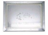 送料無料アルミフレーム化ステンレス鋼レーザーステンシル用pcbはんだ組立smtで高精度ステンシル026