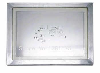 Livraison gratuite pochoirs Laser en acier inoxydable encadrés en Aluminium pour assemblage de soudure PCB SMT avec pochoir de haute précision 026