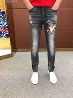 WE08256BH Fashion Men's Jeans 2018 Runway Luxury Brand European Design party style Men's Clothing