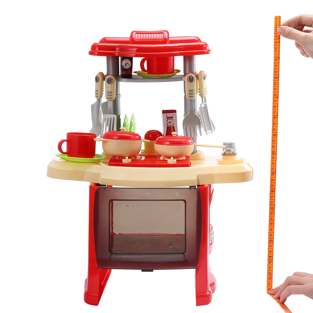 Kitchen toy set with music light for Kitchen set video song