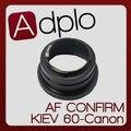 2-й Регулируемая AF Подтверждение Адаптер Костюм Для Киев 60 Pentacon 6 Объектив для Canon E0S 7D 60D 50D 60Da 5D 500D 550D 40D 5Dll камера