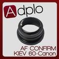 2nd Adjustable AF Confirm Adapter Suit For Kiev 60 Pentacon 6 Lens to Canon E0S 7D 60D 50D 60Da 5D 500D 550D 40D 5Dll Camera
