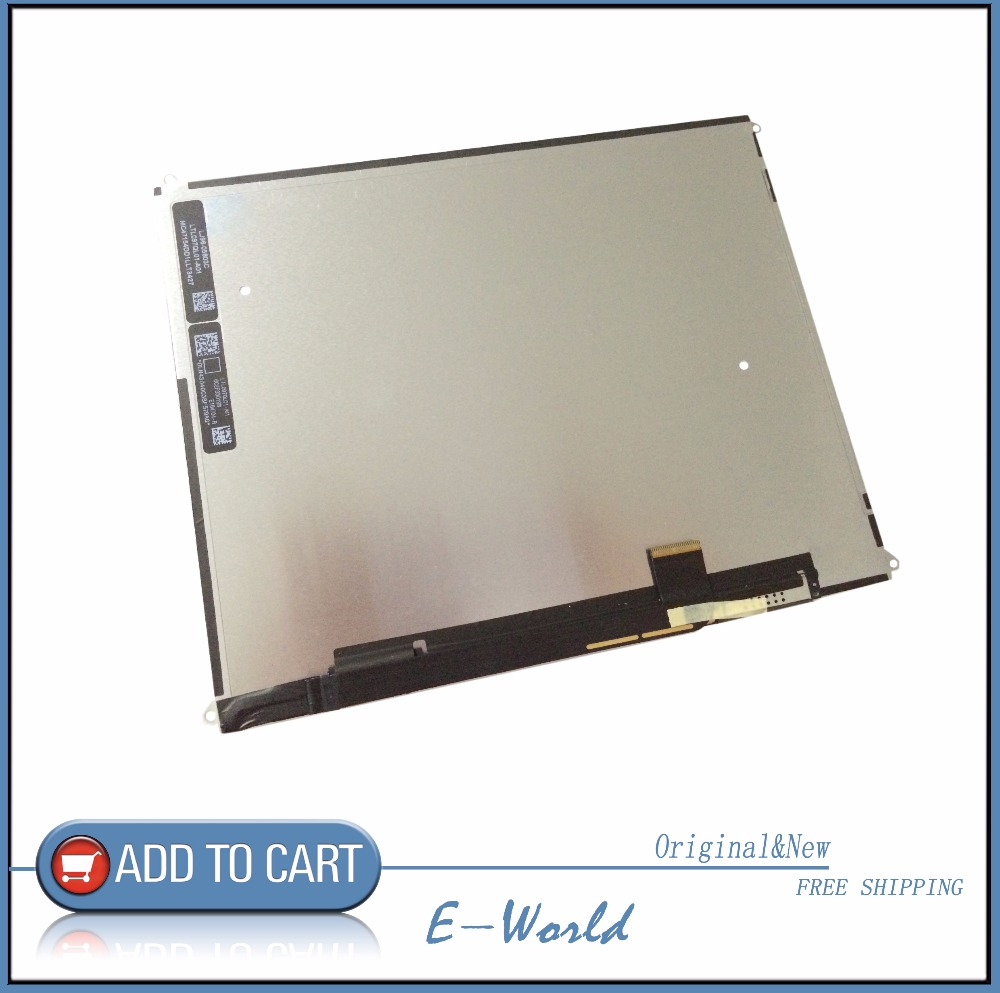 Original and New 9.7inch LCD Display For iPad4 iPad 4 iPad3 iPad 3 Replacement LCD Screen Free Shipping