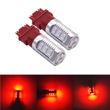 NEW LED Light!1pcs 5630 12smd Led Car led High Power Strobe Flash Braking lights DC 12V Super bright Red