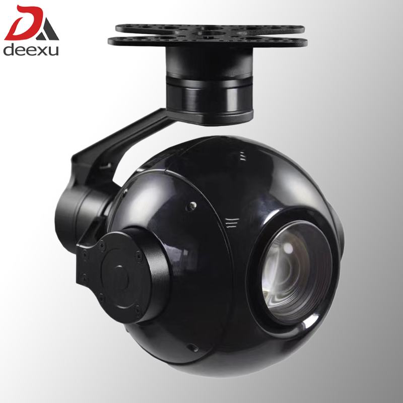 Object Tracking Function UAV Gimbal Camera 30x Zoom HD Starlight Aerial Patrol Camera Drone PTZ Camera