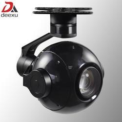 Функция отслеживания объектов БПЛА Gimbal камера 30x zoom HD starlight aerial patrol камера Дрон PTZ камера