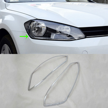 OUBOLUN ABS exterior car parts Car body kits headlight  cover For VOLKS-WAGEN 2014 Golf 7 volks game