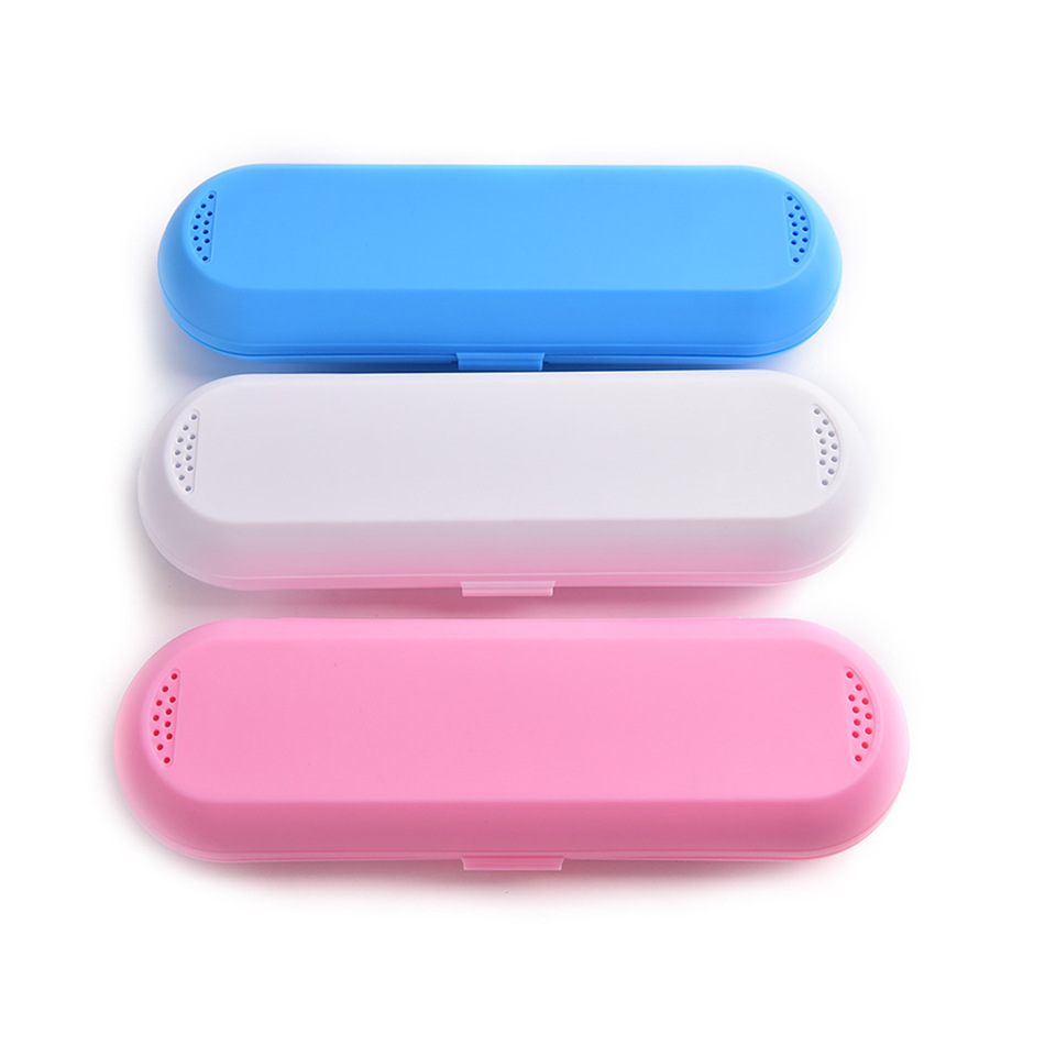 Useful 1PC Portable Toothbrush Holder Bathroom Accessories Electric Case Travel Storage Box