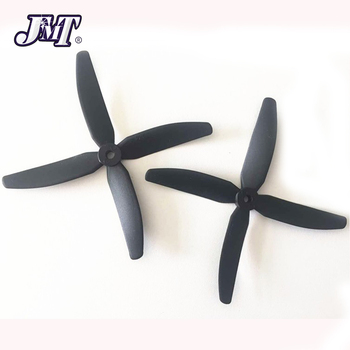 JMT 1Pair 4-Paddle Propeller CW/CCW Props For Racing FPV 210 250 280 320 Martian 230 255 Quadcopter image