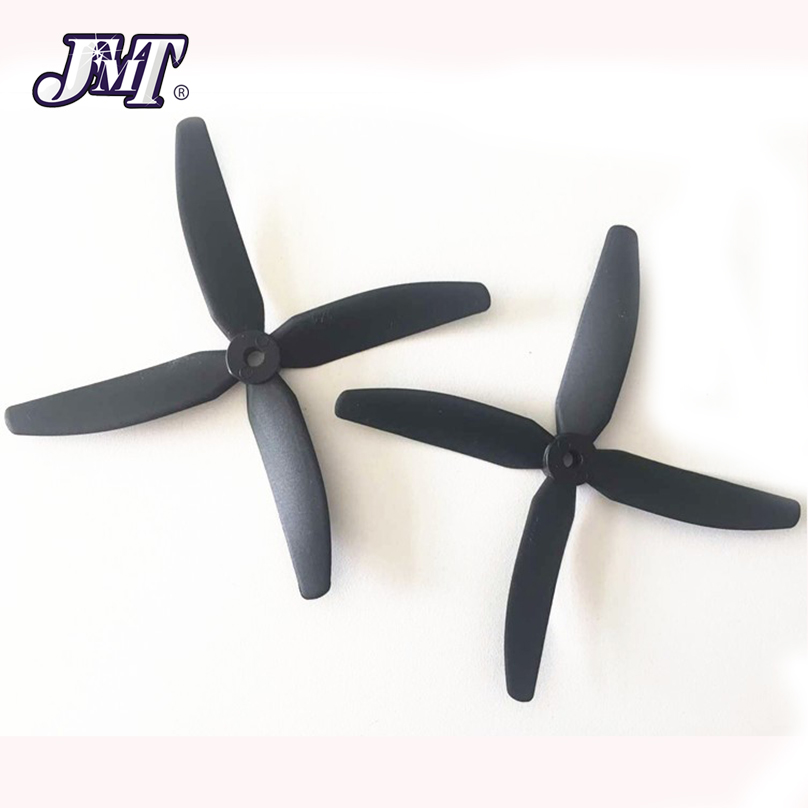 JMT 1Pair <font><b>4</b></font>-Paddle Propeller CW/CCW Props For Racing FPV 210 250 280 320 Martian 230 255 Quadcopter image