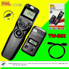Pixel TW-283/90 Cámara Timer Inalámbrico Disparador Remoto Cable de Control Para FUJIFILM GFX50S X-PRO0 XQ2 XQ1 PIX MULTA S1 DSLR