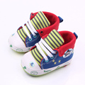 Spring Autumn Colorful Pattern Print Soft Sole Toddler Baby Boys Girls Cotton Shoes For 0-15M