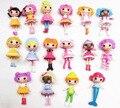 Super Cute 8 pçs/set Mini Lalaloopsy Feliz Anjo Boneca 8 cm Adorável Mini Estatueta Ação PVC Brinquedo Do Bebê do Aniversário Das Meninas presentes