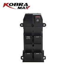 KobraMax สวิทช์ควบคุมสวิทช์ควบคุม 35750 TMO F01 เหมาะสำหรับ 2007 2011 Honda City รถอุปกรณ์เสริม