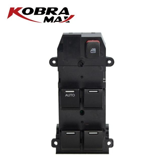 KobraMax Power Window Master Control Switch 35750 TMO F01 Fits For 2007 2011 Honda City Car Accessories