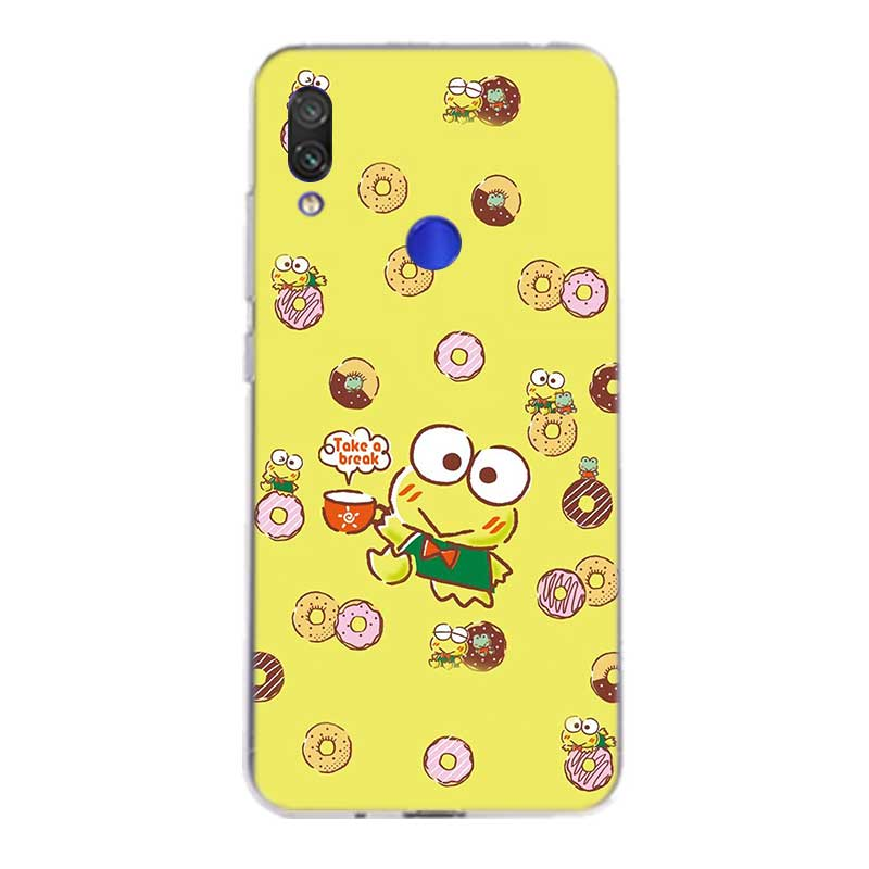 Uyellow Cute keroppis Silicone Case For Redmi S2 Note 4 5 6 7 7S 4X 5 5A 5P 6 6A 7 7A Y3 For Xiaomi F1 8 lite 9 SE 5X 6X Cover in Fitted Cases from Cellphones Telecommunications