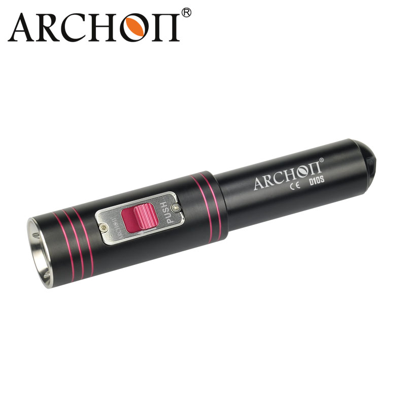 100% Original ARCHON D10S W16S Diving Flashlight Cree XM-L U2 LED 1200 Lumens Diving Flashlight Torch (without battery) цены