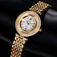 Women Bracelet Watch Xinge Top Brand Luxury Women 3A Zircon Crystal Bracelet Quartz Watch Women Dress