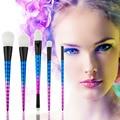 Vander Profesional 5 UNIDS Maquillaje Pinceles Set Kits de cepillo del maquillaje del Color de Sombra de Ojos conjunto de pincel Blending Fundación Polvo maquiagem