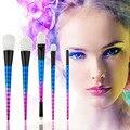 Vander Professional 5 PCS Makeup Brushes Set Fundação Blending Pó Kits de Sombra Cor de maquiagem jogo de escova pincel de maquiagem