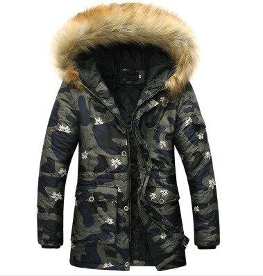 100% QualitäT Parkas Hombre 2016men's Mode High-end Freizeit Camouflage Winter Jacke Herren Steppjacke Warme Winter Jacken Männer