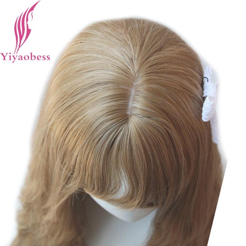 Yiyaobess 65cm μακρύς κυματιστές περούκες - Συνθετικά μαλλιά - Φωτογραφία 4