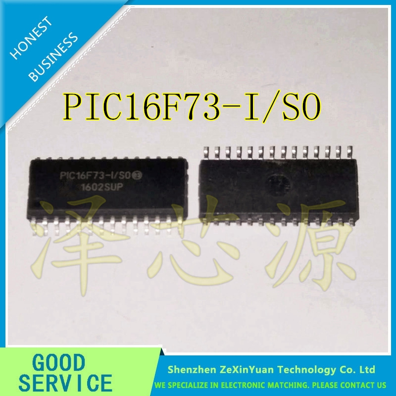 10PCS/LOT PIC16F73-I/SO 16F73-I/SO PIC16F73 SOP28 new