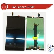 Para lenovo vibe z2 pro k920 pantalla lcd con pantalla táctil digitalizador asamblea + herramientas de envío gratis