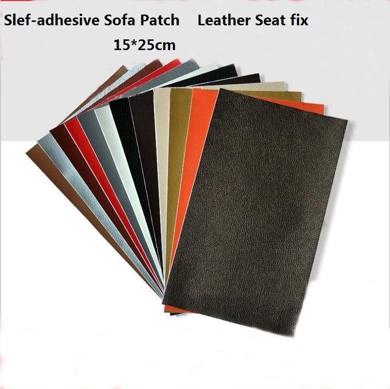 self adhesive leather repair patches peel and stick self adhesive first aid for sofas car seats. Black Bedroom Furniture Sets. Home Design Ideas