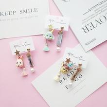 Women Acrylic Cute Cartoon Circus Elephant Rabbit Deer Drop Dangle Earrings Korea Handmade Fashion Jewelry-JQD5