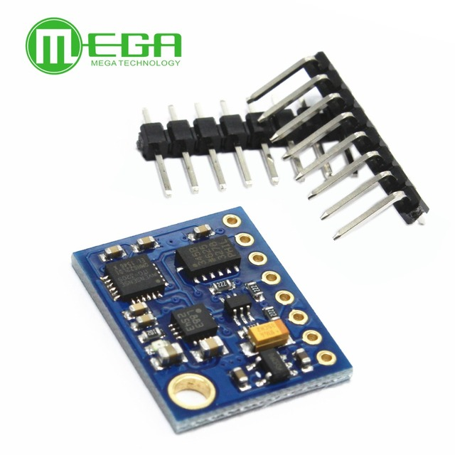 GY 85 BMP085 センサーモジュール 9 軸センサモジュール (ITG3205 + ADXL345 + HMC5883L) 、 6DOF 9DOF imuセンサー