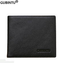 GUBINTU 2019 New Portefeuille Homme Men Wallets Leather Slim Wallet with Anti-th