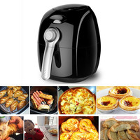 220V 2.7L Household Non stick Multifunctional Electric Air Fryer Oil Free And Smokeless French Fries Machine EU/AU/UK/US