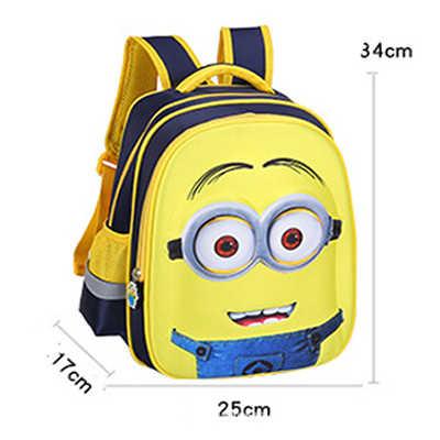 5378851d6 ... Kids School Bags for Boys Schoolbag Backpacks For Children Backpacks  Mochila Minion Backpack Escolar Infantil