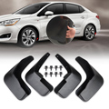 New Mud Flaps Flap Splash Guards Mudguard For Citroen C4 Hatchback 2006 2007 2008 2009 2010 2011 2012 2013 2014