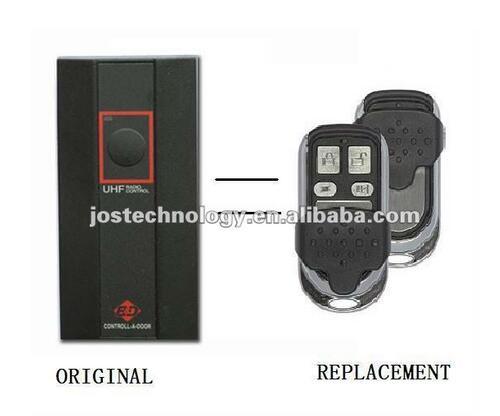 318MHZ MPC2 BND Replacement Remote BND Garage Door Remote Transmitter