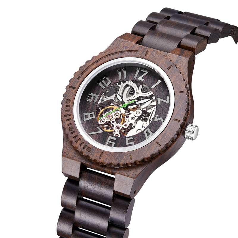 Wood Watch  Quartz Watches   Wooden   Wooden Watch  Men2- (2)