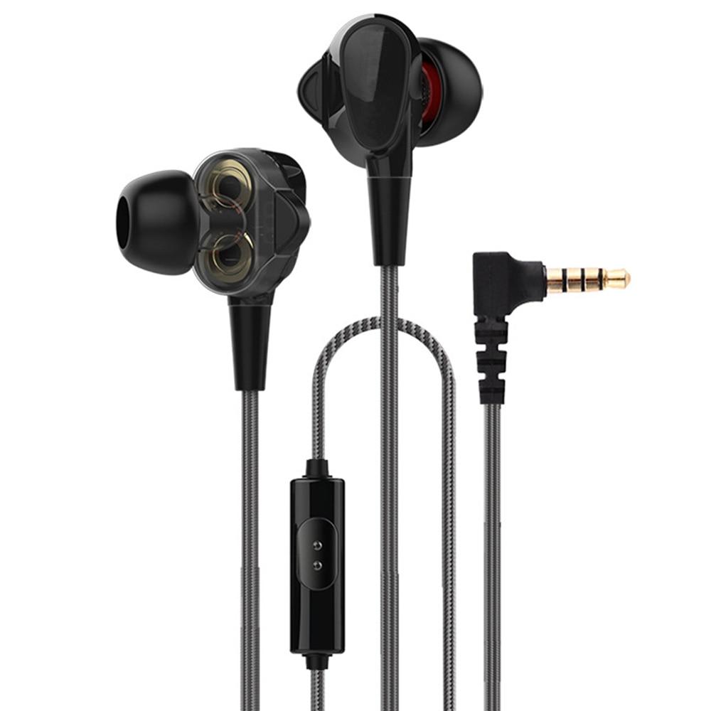 AIPAL sport filaire écouteurs 3.5mm AUX 2-Dynamic basse écouteurs avec micro mp3 musique salut-fi Stéréo écouteurs pour téléphone ipod