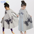 Children's Clothing Christmas Costumes for Girls Elsa Anna Dress Girl In Autumn Winter Dress Princess Dress Flared