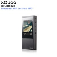 Original xDuoo X20 High Fidelity Lossless Music DSD HIFI Mp3 Player DAP Support Apt X Aptx Bluetooth 4.1 xDuoo X3 X10 NANO D3
