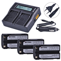 3 шт. 7 4 В 2600 мАч батарея + быстрое двойное зарядное устройство для Pentax D-LI1 батарея Trimble 5700 5800  R6  R7  R8  TSC1 GPS приемник